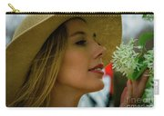 Smell The Flowers Carry-all Pouch
