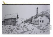 Smelter Ruins Glendale Ghost Town Montana Carry-all Pouch