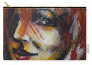 Smile - Portrait Of A Woman Carry-all Pouch