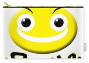 Smile T-shirt Carry-all Pouch