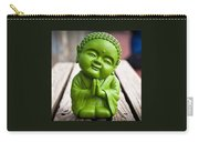 Smiley Buddha Carry-all Pouch