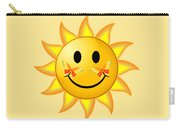 Smiley Face Sun Carry-all Pouch