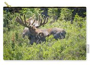 Smiling Bull Moose Carry-all Pouch