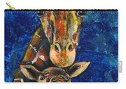 Smiling Giraffes Carry-all Pouch