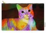 Smiling Kitty Carry-all Pouch