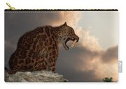 Smilodon Californicus Lookout Carry-all Pouch