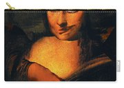 Smirking Mona Carry-all Pouch