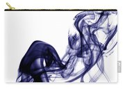 Smoke Photography - Blue Carry-all Pouch
