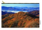 Smokey Mountain Sunrise Carry-all Pouch