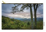 Smokey Mountain Sunset Carry-all Pouch