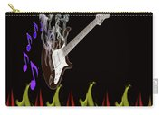 Smoking Guitar Carry-all Pouch
