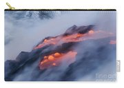 Smoking Pahoehoe Lava Carry-all Pouch