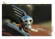 Smoking Skull Hood Ornament Carry-all Pouch