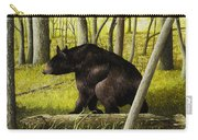 Smoky Mountain Bear Carry-all Pouch