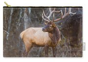 Smoky Mountain Elk II - North Carolina's Cataloochee Valley Wildlife Carry-all Pouch