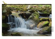 Flowing Stream #3, Smoky Mountains, Tennessee Carry-all Pouch