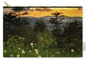 Smoky Mountain Sunset Carry-all Pouch