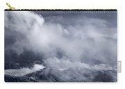 Smoky Mountain Vista In B And W Carry-all Pouch