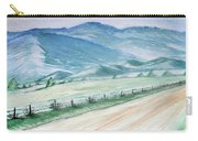 Smoky Mountains From Cades Cove Loop Carry-all Pouch
