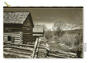 Smoky Mt Homestead - B W Carry-all Pouch
