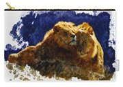 Smooching Lions Carry-all Pouch