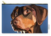 Smooth Dachshund Carry-all Pouch