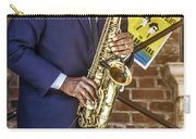Smooth Sax Man Carry-all Pouch