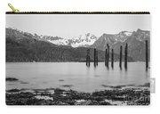 Smooth Seward Alaska Grayscale Carry-all Pouch