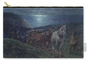 Smugglers Carry-all Pouch by William Barnes Wollen