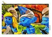 Smurfette And Friends - Pa Carry-all Pouch
