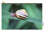 Snail In His Green Jungle Carry-all Pouch