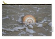 Snail In The Surf Carry-all Pouch