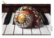 Snail Shell On Keys Carry-all Pouch