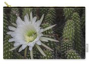 Snake Cactus Flowers Carry-all Pouch