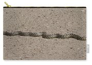 Snake On The Road Carry-all Pouch