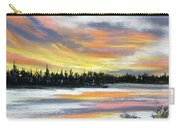 Snake River Sunset Carry-all Pouch