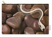 Snake Skeleton  Carry-all Pouch by Garry Gay