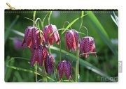 Snakes Head Flowers Carry-all Pouch