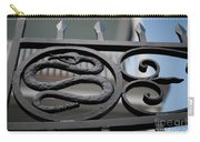 Snakes On A Gate Carry-all Pouch