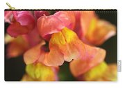 Snapdragon Flowers Carry-all Pouch