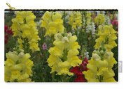 Snapdragons Flowers 3 Carry-all Pouch