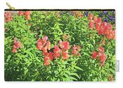 Snapdragons In Orange  Carry-all Pouch