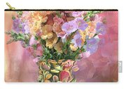 Snapdragons In Snapdragon Vase Carry-all Pouch