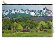 Sneffels Range Spring Acrylic Carry-all Pouch