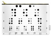 Snellen Chart - Braille Carry-all Pouch