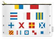 Snellen Chart - Nautical Flags Carry-all Pouch