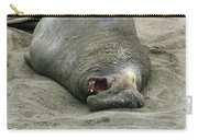 Snoring Elephant Seal Carry-all Pouch