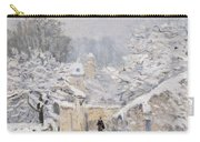 Snow At Louveciennes Carry-all Pouch by Alfred Sisley