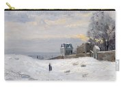 Snow At Montmartre Carry-all Pouch