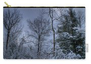 Snow At Sunrise Carry-all Pouch